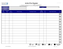 Action Plan Register